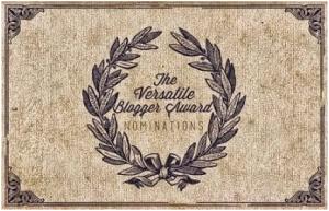 Premio bloguero versatil